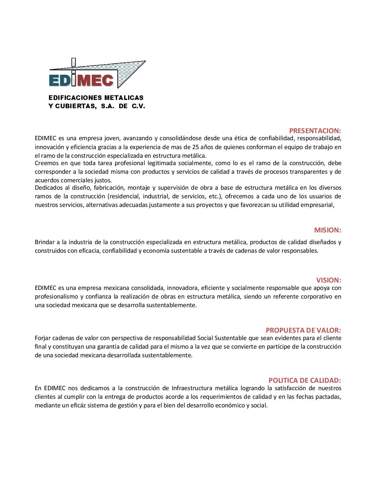 Contemporáneo Curriculum De Calidad Elaboración - Ejemplo De ...